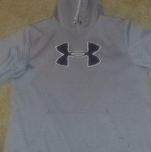 Men's UA Hoodie 2Xl loose fit.